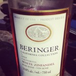Wine Tasting at Home – Beringer White Zinfandel