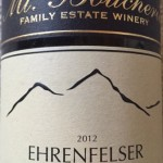 Wine Tasting at Home: Mt. Boucherie Ehrenfelser